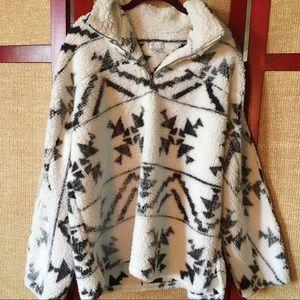 Cozy Sherpa Pullover